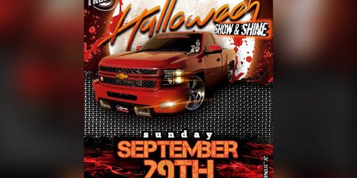 Halloween show & shine Truck Show