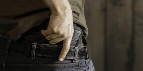 Concealed Carry Handgun Class Weeknight Newport, Morehead City,Havelock,New Bern $60 tickets