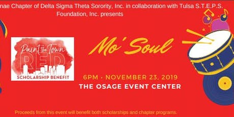 """Paint the Town Red 2019 - """"Mo' Soul"""" tickets"""