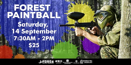 EAFB - September Forest Paintball tickets
