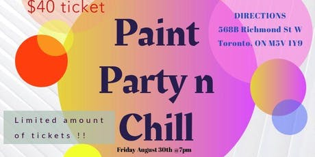 Paint Party n Chill  tickets