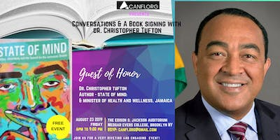 Conversations  and a Book Signing with  Dr. Christopher Tufton