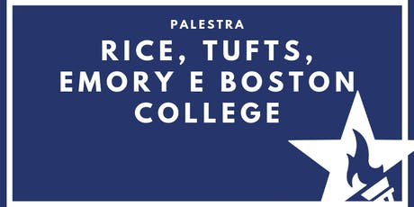 Palestra com Rice, Tufts, Emory e Boston College ingressos