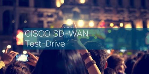 Cisco SD-WAN Test Drive - 31/10/2019