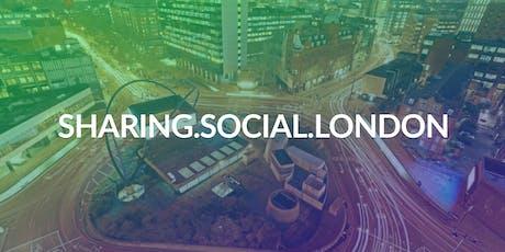 Sharing Social London | October 2019 tickets