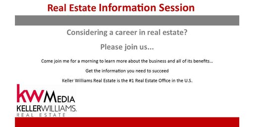 Thinking about a career in Real Estate - Come to our Real Estate Information Session
