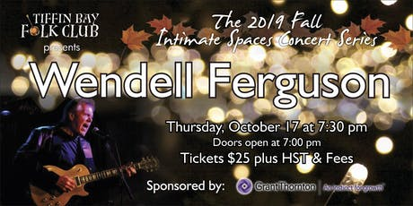 Fall Intimate Concert Series: Wendell Ferguson tickets