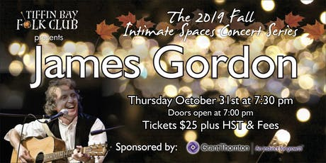 Fall Intimate Concert Series: James Gordon tickets