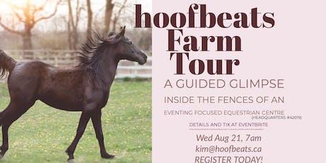 hoofbeats Farm Tour (headquarters # 42109) tickets