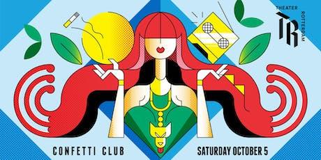 Confetti Club @ Theater Rotterdam Schouwburg tickets