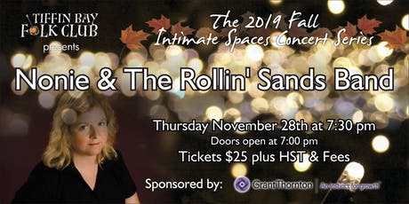 Fall Intimate Concert Series: Nonie & The Rollin' Sands Band tickets