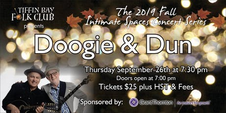 Fall Intimate Concert Series: Doogie & Dun tickets