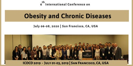 International Obesity and Chronic Diseases Meeting-2020 tickets