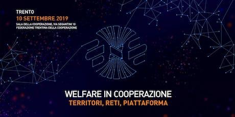 Welfare In Cooperazione  biglietti