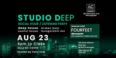 Studio Deep with FOURFEET, Tee So, and Sid DeLuca