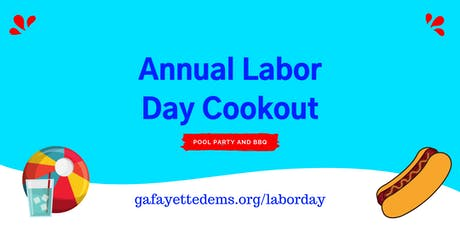 Fayette County Democrats Annual Labor Day Cookout  tickets