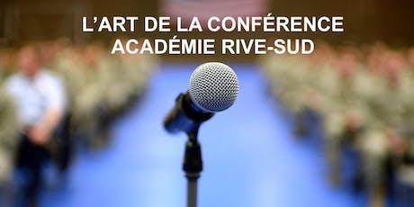 S'exprimer pleinement en public! Cours gratuit Boucherville mardi billets