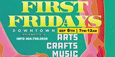 FIRST Fridays ( ART SHOW ) @phiri / SEP 6th tickets