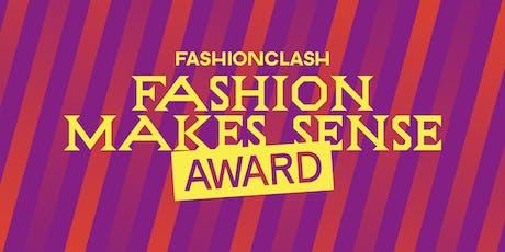 Fashion Makes Sense Award: KICK OFF @ Cube Design Museum Kerkrade tickets