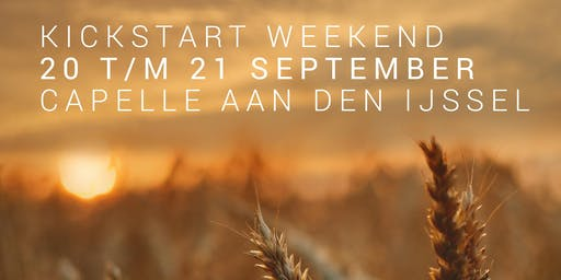 Kickstart weekend Capelle aan den IJssel