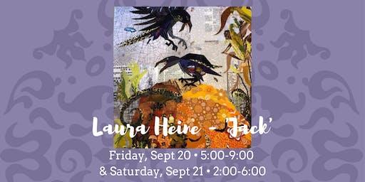 Laura Heine Exclusive 'Jack' Quilt • September 20 & 21, 2019