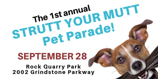 Strutt Your Mutt Pet Parade