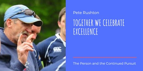 JBAA Honours Pete Rushton tickets