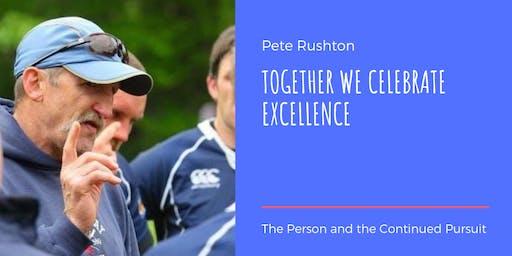 JBAA Honours Pete Rushton