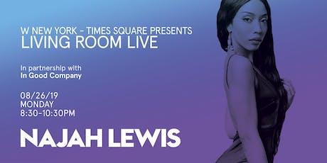 Najah Lewis / Living Room Live tickets