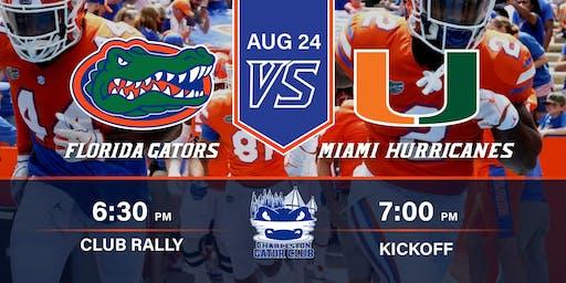 Charleston Gator Club: Miami vs. Florida Watch Party