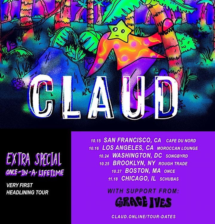 Songbyrd Presents: Claud image