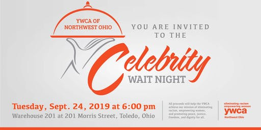 YWCA Celebrity Wait Night
