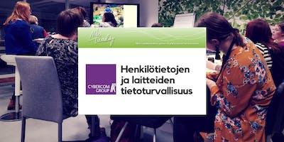 Nice Tuesday Tampere & Cybercom: Henkilötietojen ja laitteiden tietoturvallisuus