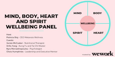 Mind, Body, Heart and Spirit Wellbeing Panel tickets