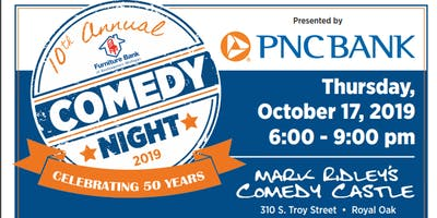10th Annual Comedy Night - Presented by PNC Bank