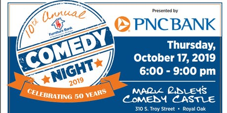 10th Annual Comedy Night - Presented by PNC Bank tickets