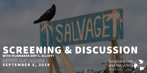Salvage - Screening and Discussion with Filmmaker Amy C. Elliott