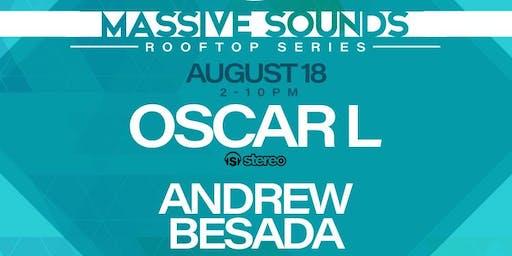 Massive Sounds Rooftop w/ Oscar L