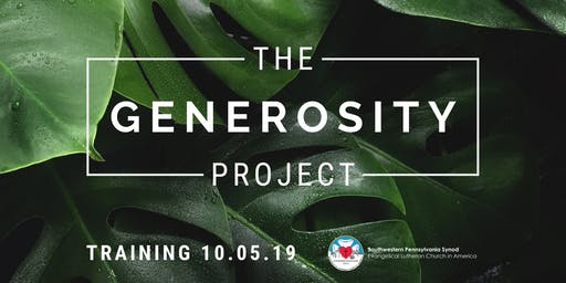 The Generosity Project Training