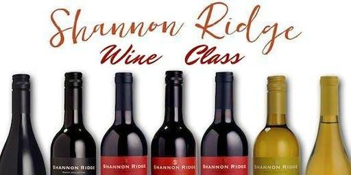 Shannon Ridge Wine Class