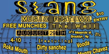 Slang Multicultural Hip Hop Festival tickets