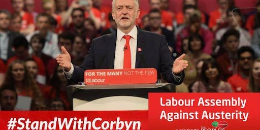 Sheffield Stands with Corbyn - Unite to End Tory Austerity
