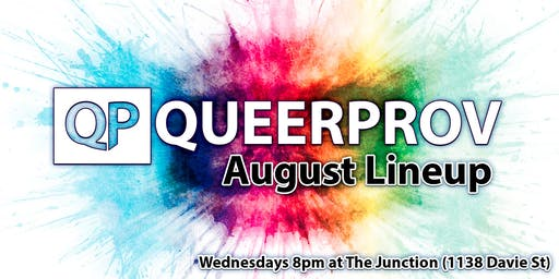 Queer Improv Comedy - August!
