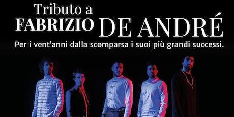 Tributo Fabrizio De Andrè Opra Mediterranea biglietti