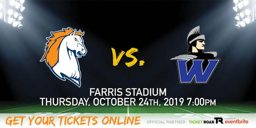 Brandeis vs Warren  Varsity Football