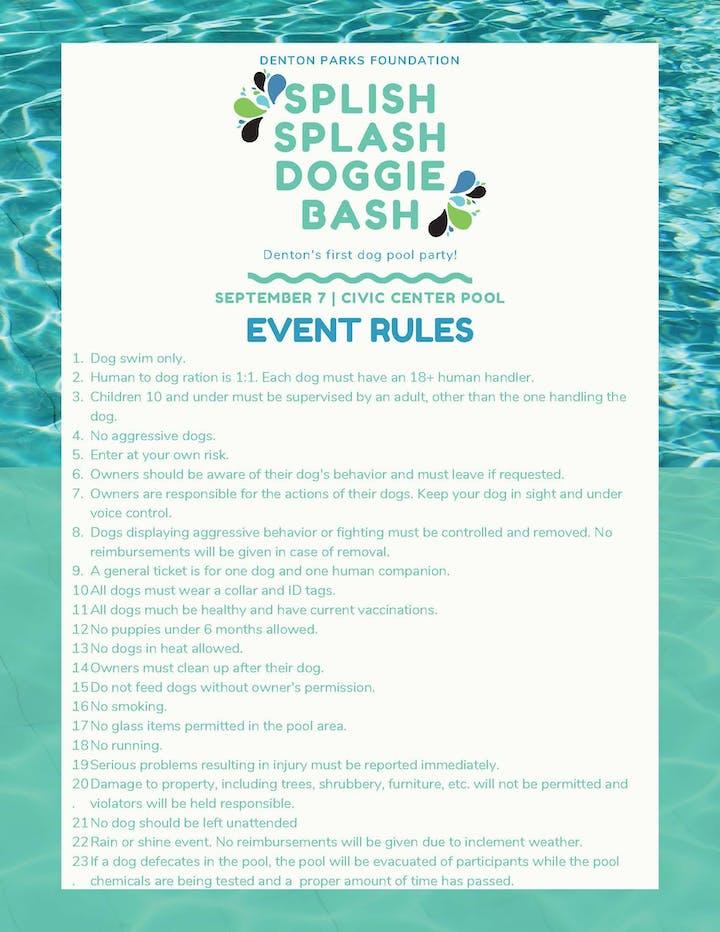 Splish Splash Doggie Bash Tickets, Sat, Sep 7, 2019 at 9:00