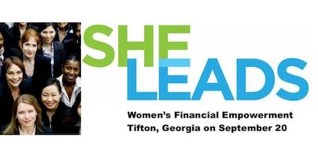 SHE LEADS GA- Tifton, GA tickets