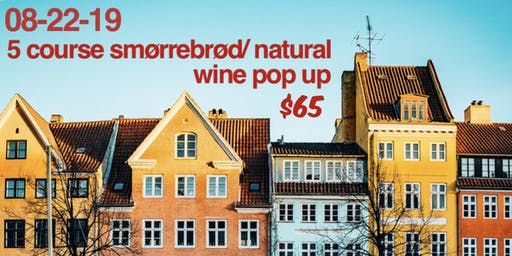 Appalachian meets Scandinavian Smørrebrød and Natural Wine Dinner