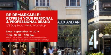 Refresh Your Personal & Professional Brand tickets