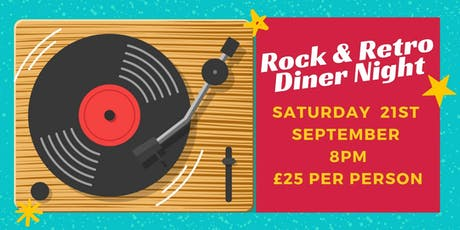 Rock & Retro Diner Night tickets